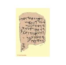 The  Facsimile Gezer calendar, 10th century BCE