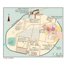 Tel Megiddo – plan